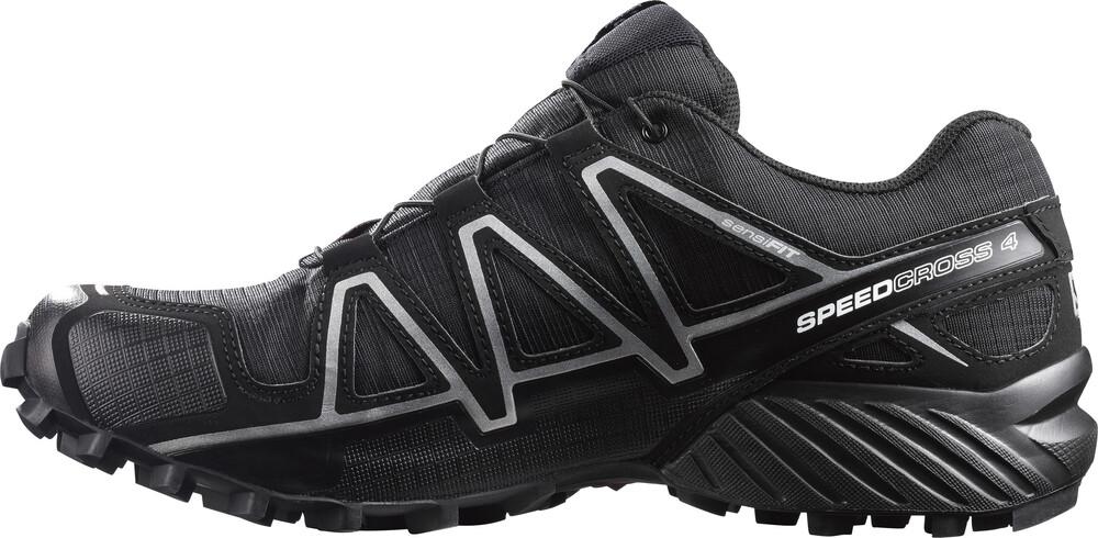 Salomon Piste De Chaussures De Course Marquer Hommes Gris Taille 46 2/3 zMw2USud9
